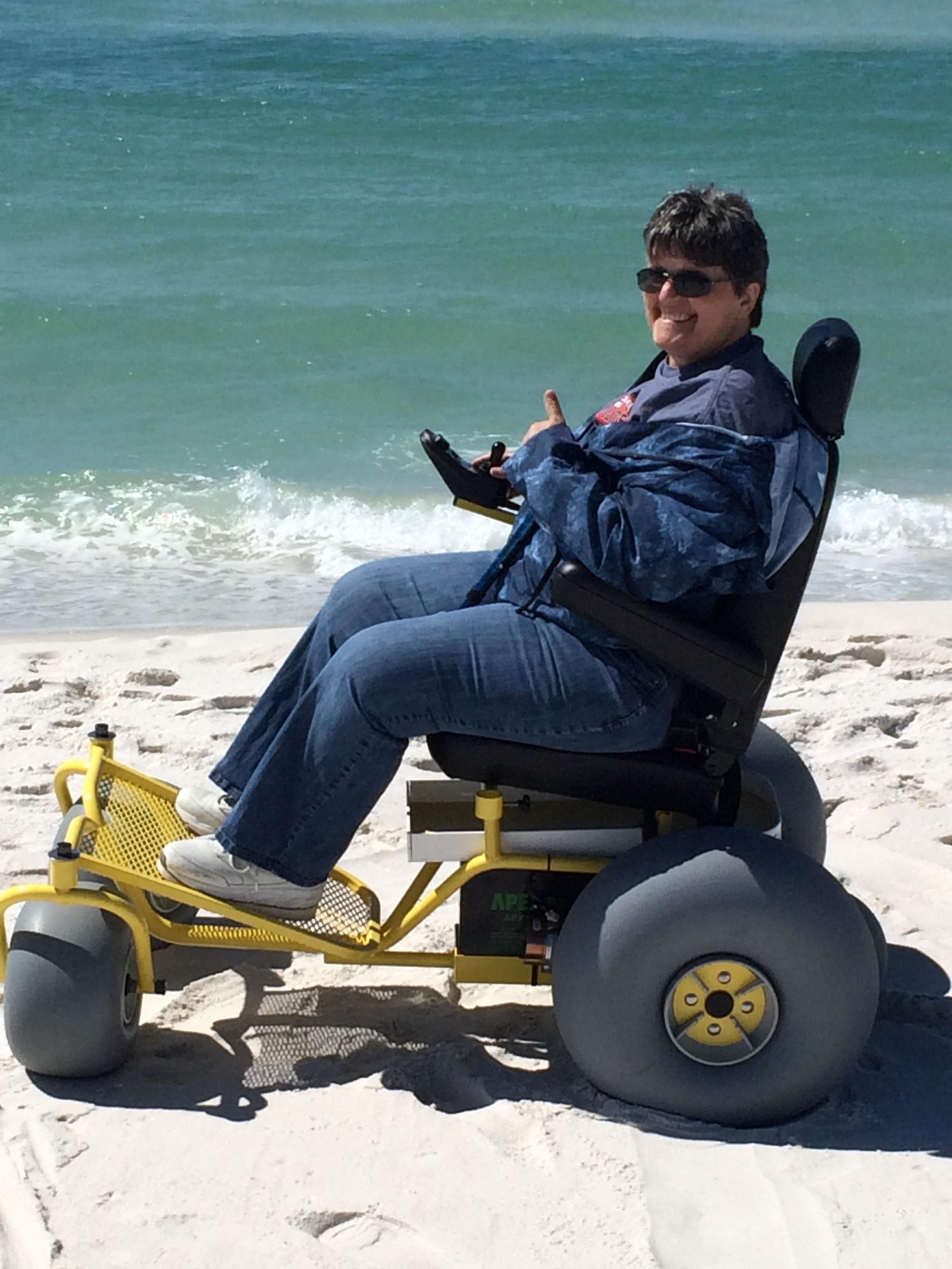Sales All Terrain Beach Wheelchair