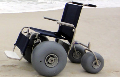 Push Beach Wheelchair