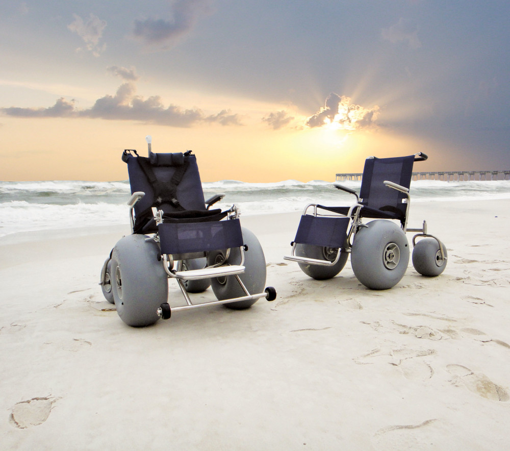 Beach Wheelchair In Panama City Beach Fl By Cory Lee