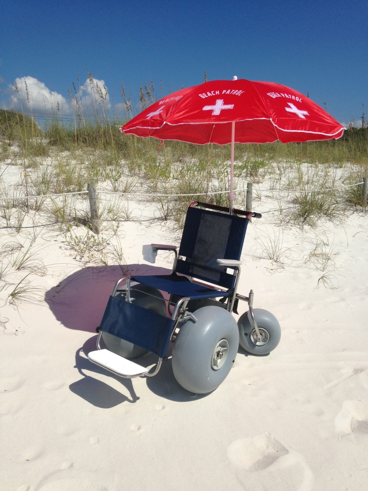 Push Beach Wheelchair Beach Powered Mobility