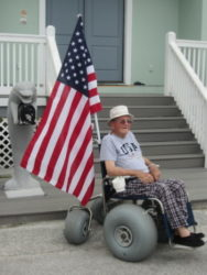 Yancey Sanders, WWII Veteran