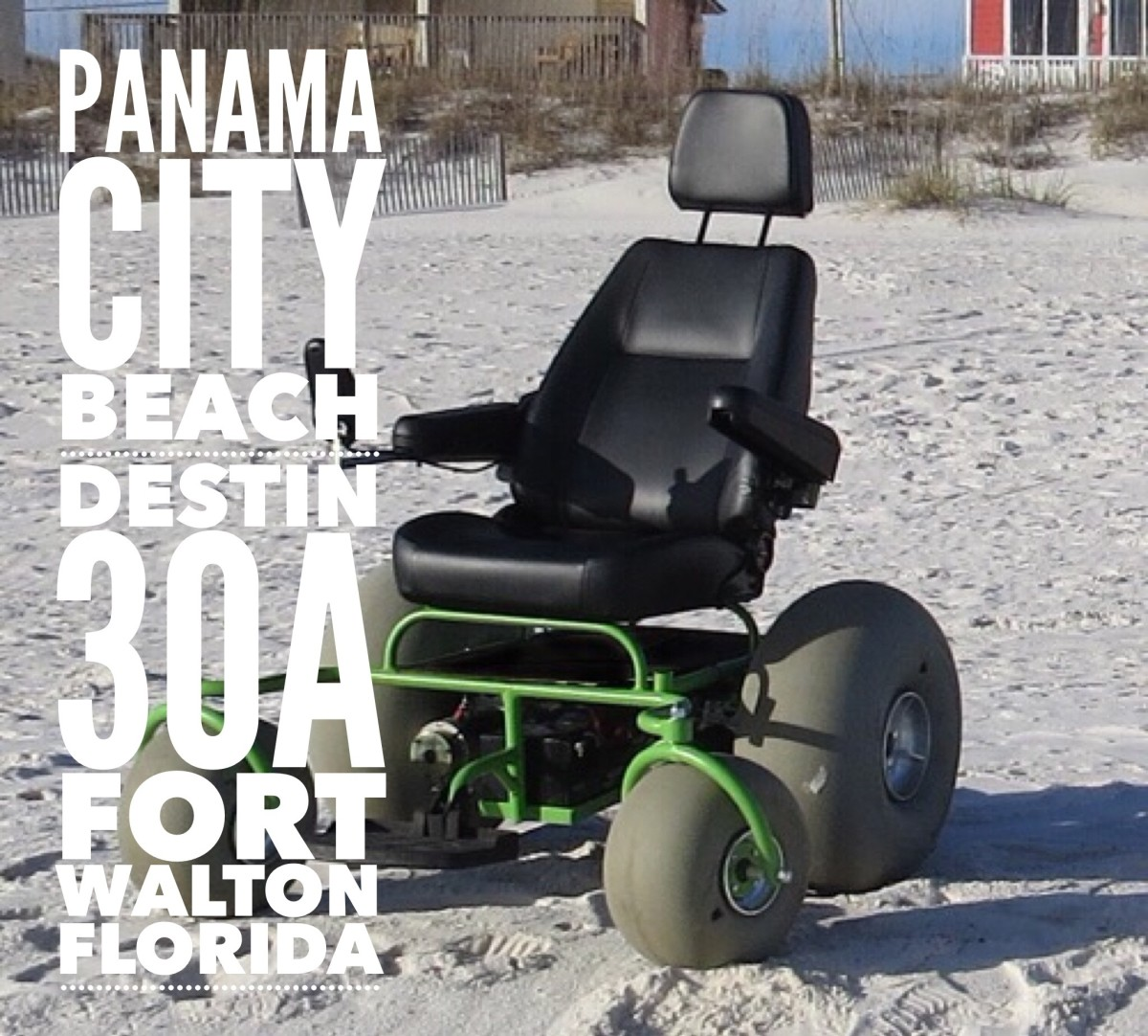 Motorized Beach Wheelchair Beach Powered Mobility