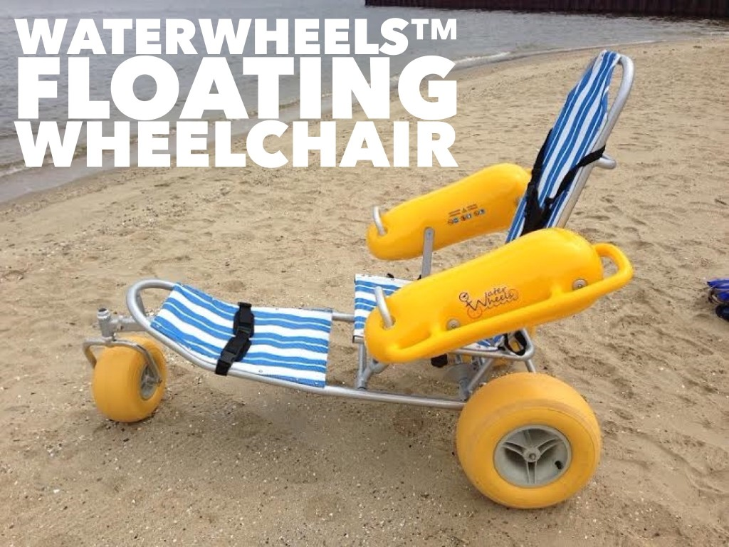 Floating Wheelchair Beach Powered Mobility