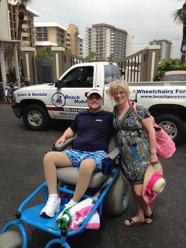 Beach Powered Mobility - Home - Beach Wheelchair Rental