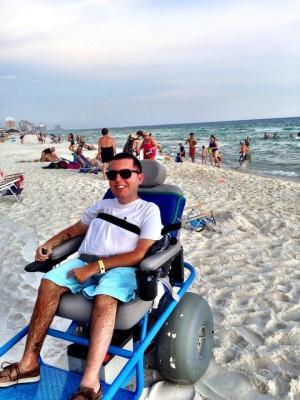 Beach Wheelchair in Panama City, FL