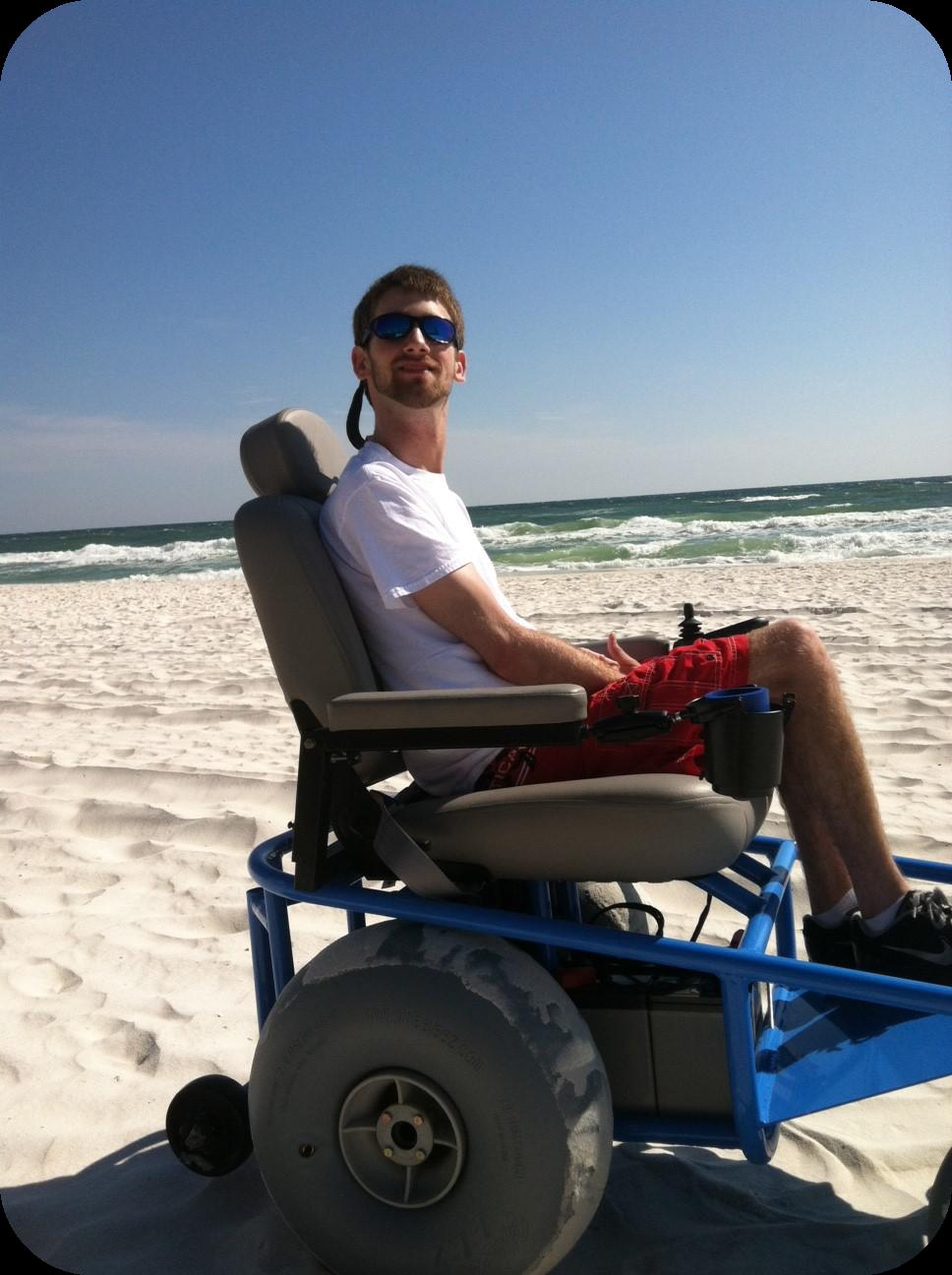 Motorized Beach Wheelchair